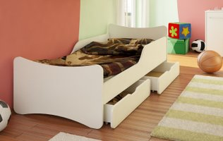 massivholz kinderbett 90x200 cm top 5 neu. Black Bedroom Furniture Sets. Home Design Ideas