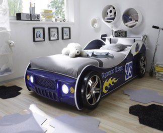 jungen kinderbett auto kinder autobett f r jungs neu. Black Bedroom Furniture Sets. Home Design Ideas