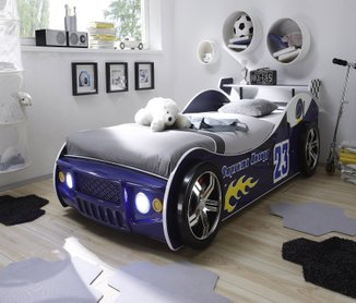 jungen kinderbett auto kinder autobett neu. Black Bedroom Furniture Sets. Home Design Ideas